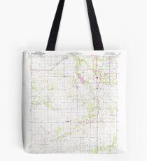 USGS TOPO Map Indiana IN Romney 160236 1961 24000 Tote Bag