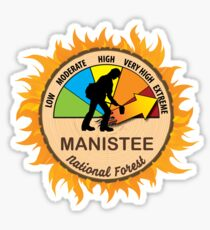 Manistee National Forest Wildland Firefighter Sticker