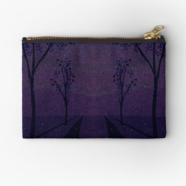 Autumn Path (Night) Zipper Pouch