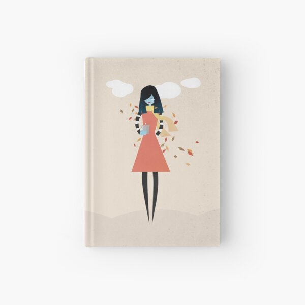 Ready for fall Hardcover Journal