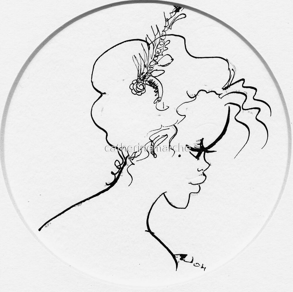 Profile I, la Moqueuse by catherinemarche