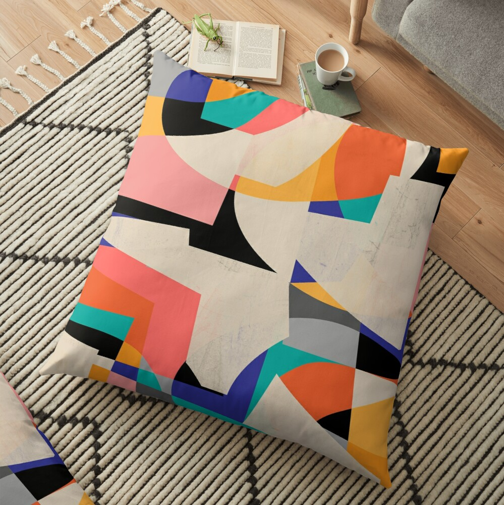 ColorShot III Floor Pillow
