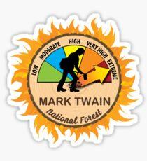 Mark Twain National Forest Wildland Firefighter Sticker