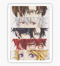 Mystic Messenger eyes Sticker