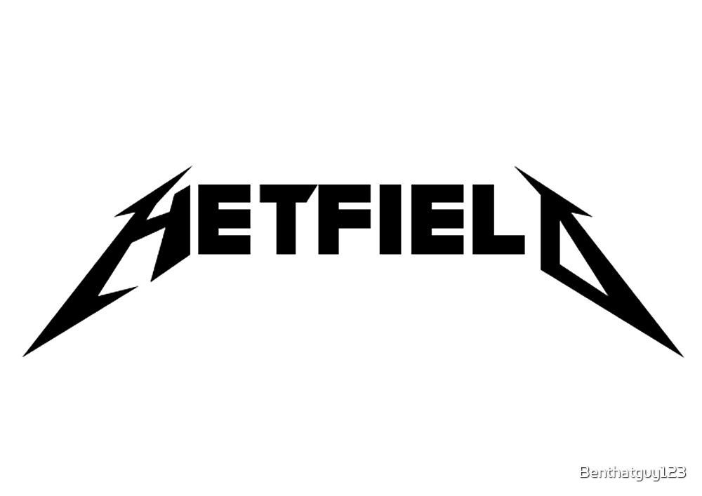 Metallica James Hetfield Style Logo By Benthatguy123 Redbubble