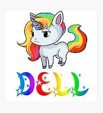 Dell Unicorn Photographic Print