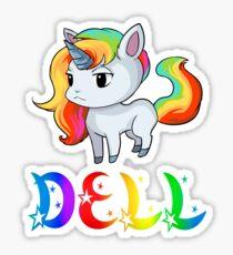 Dell Unicorn Sticker