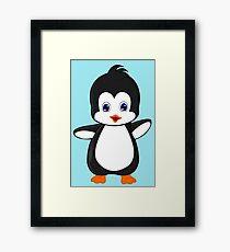 Little sweet Penguin Framed Print