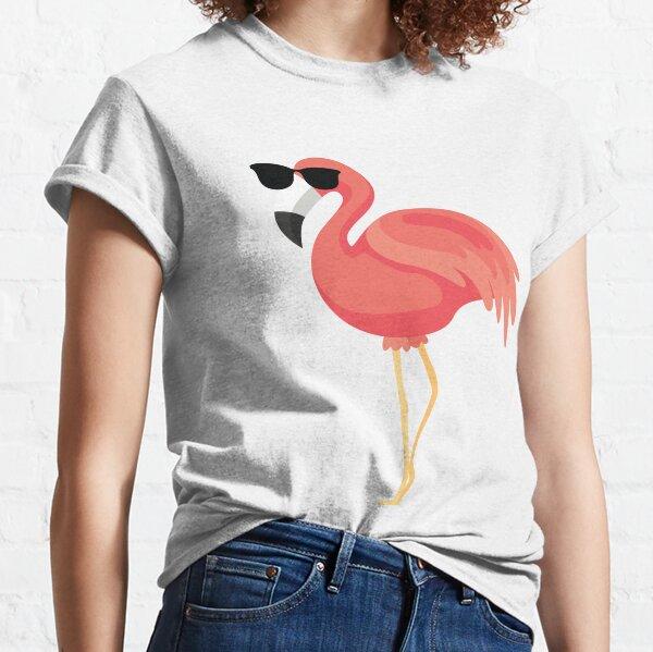 Flamingo Emoji   Classic T-Shirt