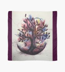 Water Colour Tree Scarf