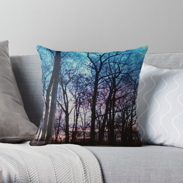 A Sunset In Maryland Throw Pillow