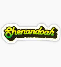 Shenandoah National Park | Retro Streamline Sticker