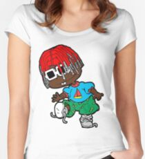 Lil Yachty Rugrats Women's Fitted Scoop T-Shirt