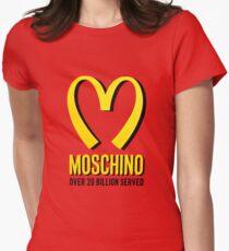 Moschino mcdonald Women's Fitted T-Shirt