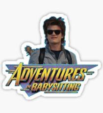 Steve Harrington - Adventures in Babysitting Sticker