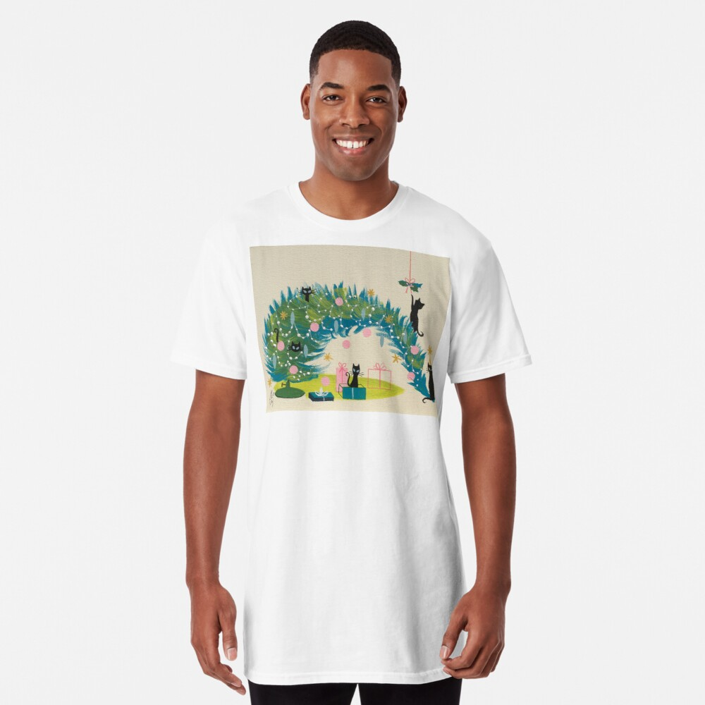 Holiday Catnip Fiasco Long T-Shirt