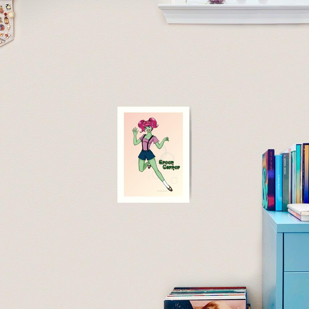Jumping Aena Art Print