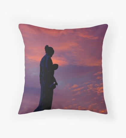 Good Morning, Hebe Throw Pillow