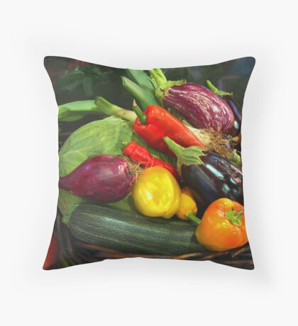 Harvest. Throw Pillow