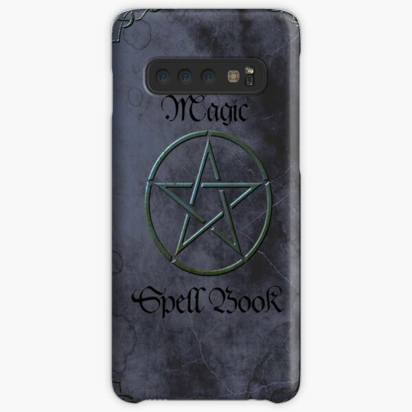 Pentacle Magic Spell Book Phone Cover Samsung Galaxy Snap Case