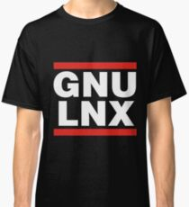 GNU/LNX (GNU/Linux) Classic T-Shirt