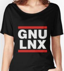 GNU/LNX (GNU/Linux) Women's Relaxed Fit T-Shirt