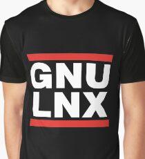 GNU/LNX (GNU/Linux) Graphic T-Shirt