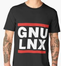 GNU/LNX (GNU/Linux) Men's Premium T-Shirt