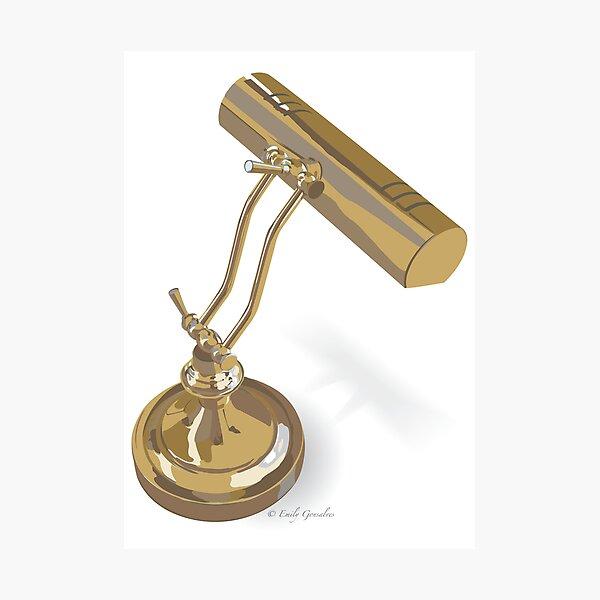 Desk Lamp Photographic Print