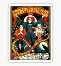 Sanderson Sisters Tour Poster Sticker