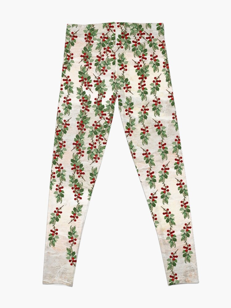 Alternate view of Berries falling from Heaven Leggings