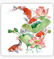 koi carp fish  Sticker