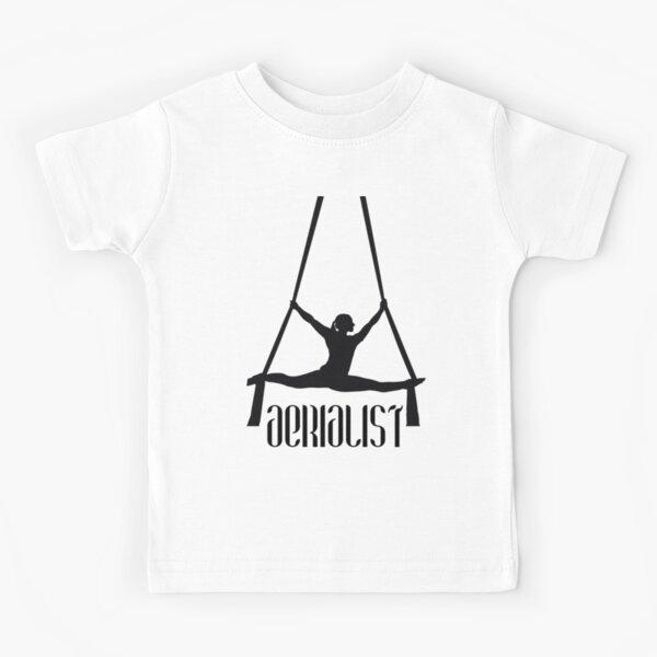 Aerialist-Silks Performer Kids T-Shirt