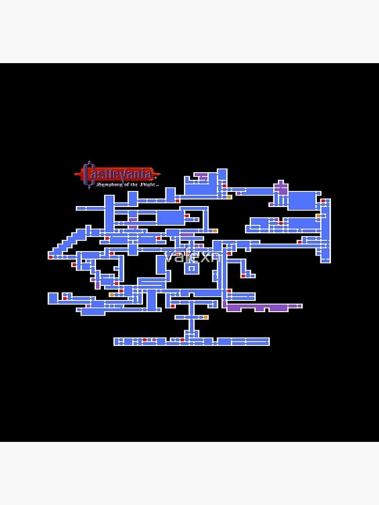 Castlevania Map by valexn