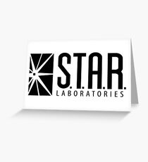 S.T.A.R. LABORATORIES Greeting Card