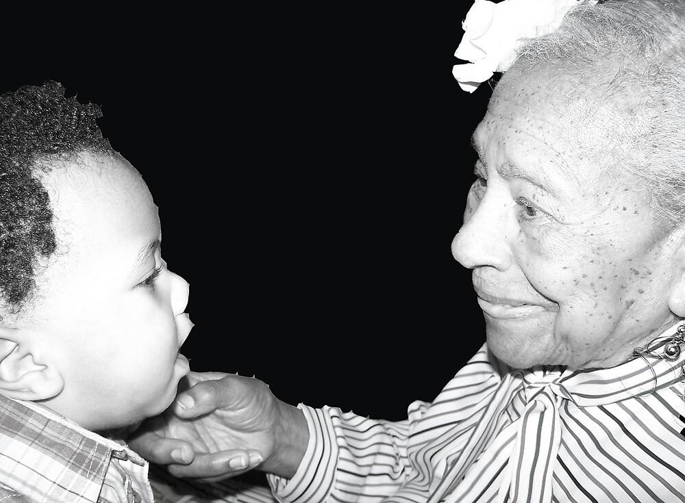 My Great Nephew & My Grandma by purplestar