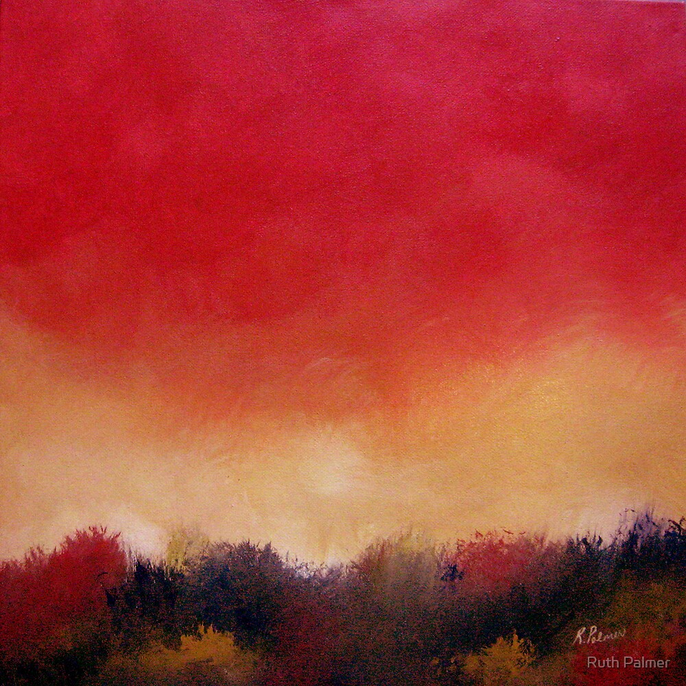 Tangerine Glow by Ruth Palmer