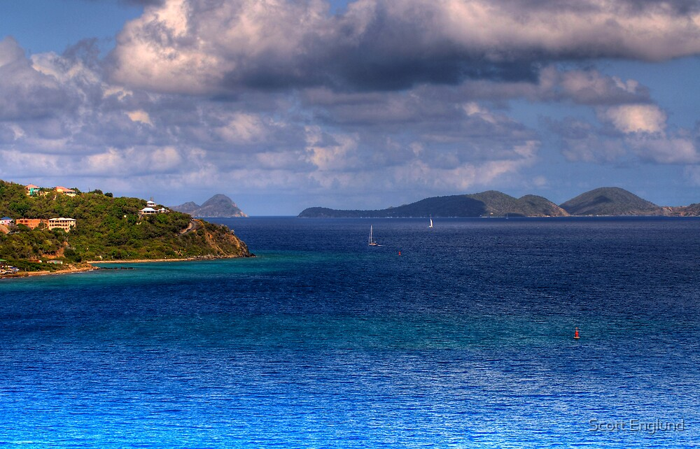 Tortola BVI by Scott Englund