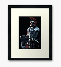 Ancient Roman Centurion Framed Print