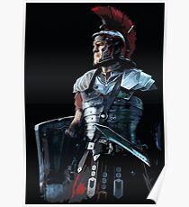 Ancient Roman Centurion Poster