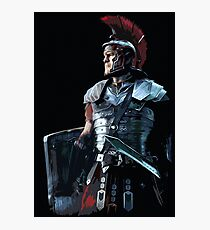 Ancient Roman Centurion Photographic Print