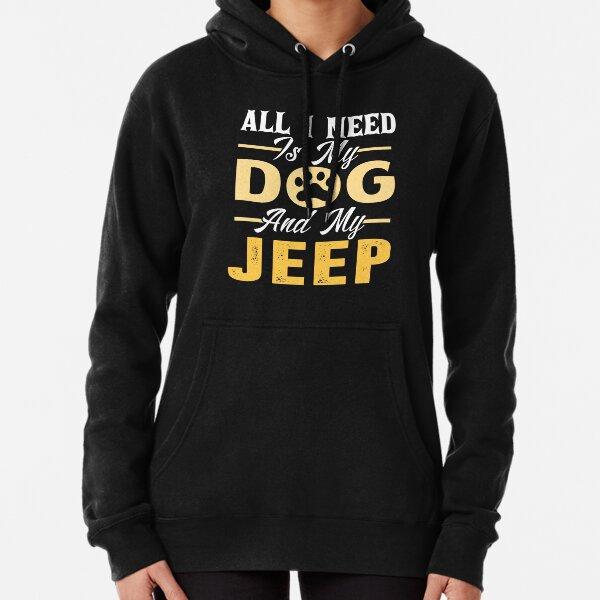 mit der richtigen Menge an Dehnung. Es ist bequem und schmeichelhaft für Männer und Frauen.  • Fahren Sie auf einem Jeep-T-Shirt Hoodie