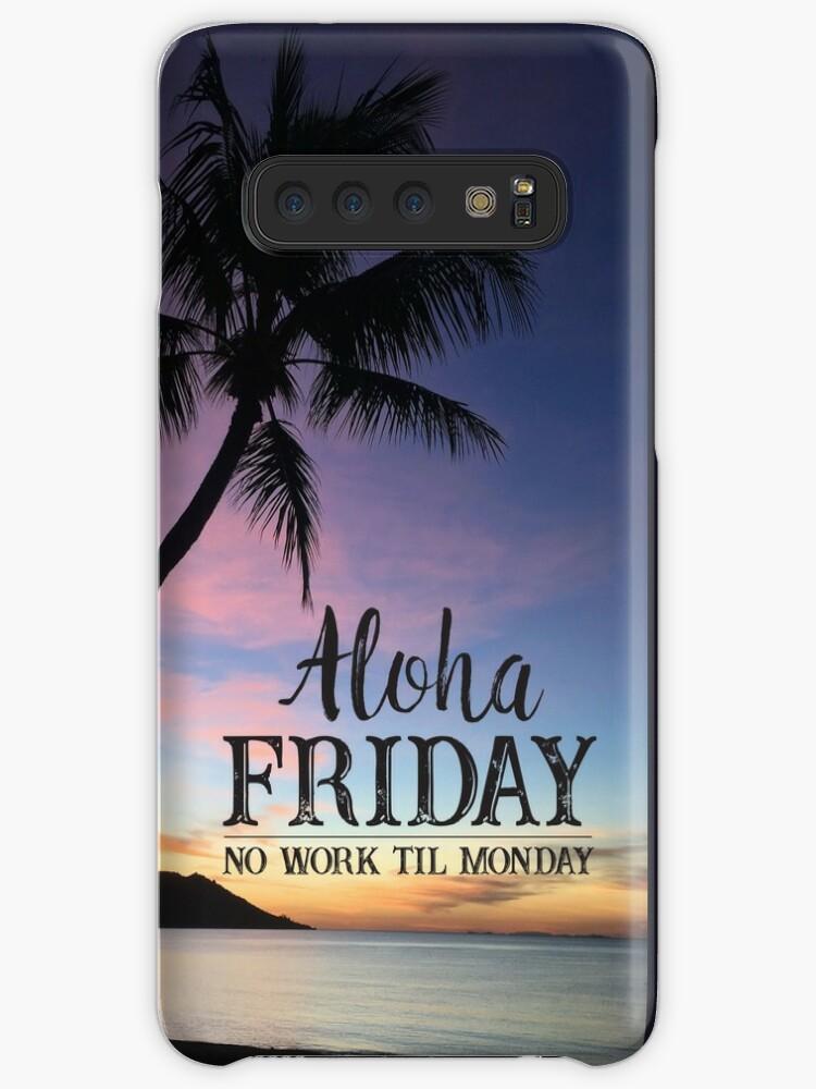908e6e5b1366 Aloha Friday Hawaii Beach Sunset Happy Friday Feeling Quote