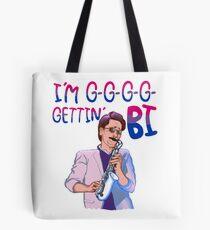 Darryl Whitefeather Bi Pride Tote Bag