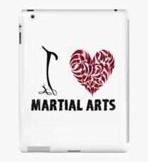 I love martial Arts T shirt iPad Case/Skin