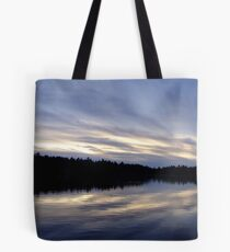 West Branch Sunset Tote Bag