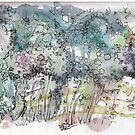 Magic Garden # 3 by Katja Schmitt