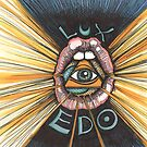 Lux Edo: Sentient Sacrement (color version) by LeftHandedLenya