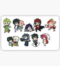 The Devil Is A Part Timer Chibi Sticker