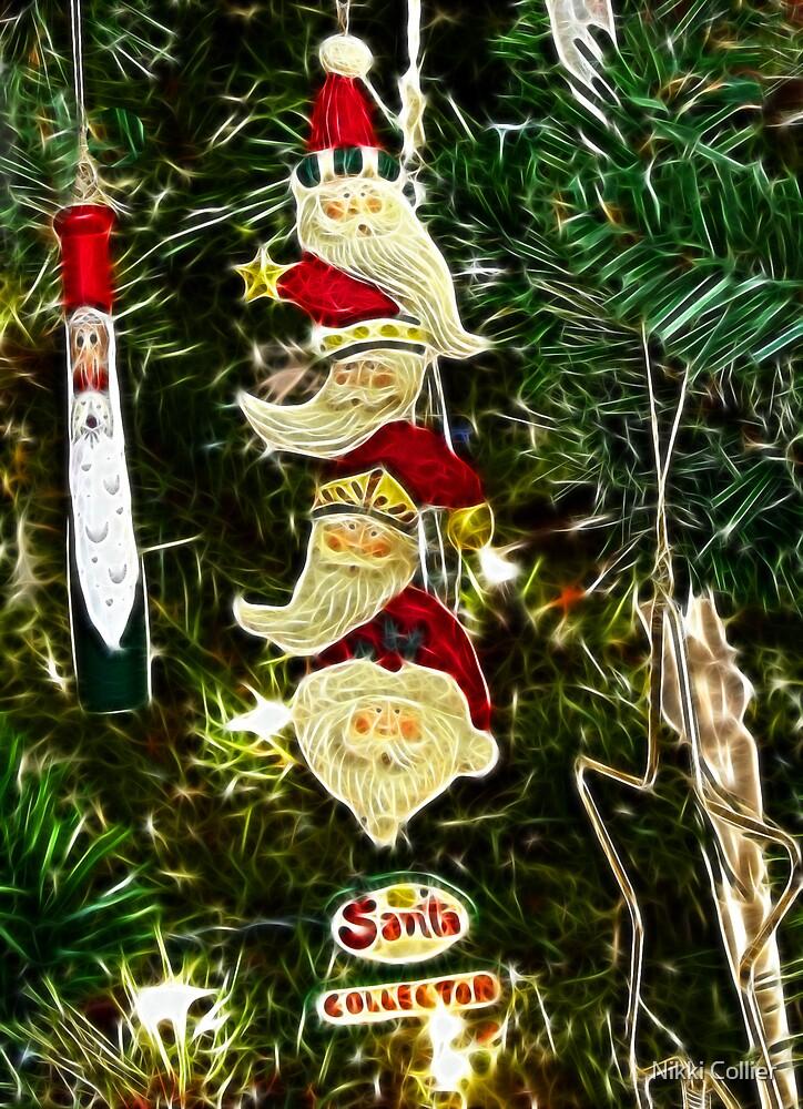 Santa Collector by Nikki Collier